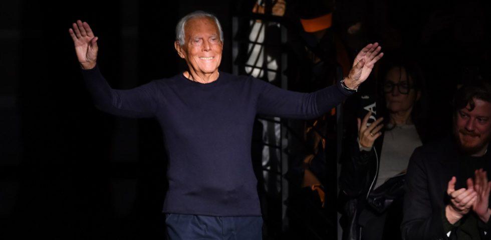 """Giorgio Armani: """"La moda deve cambiare, lavorare così è immorale"""""""