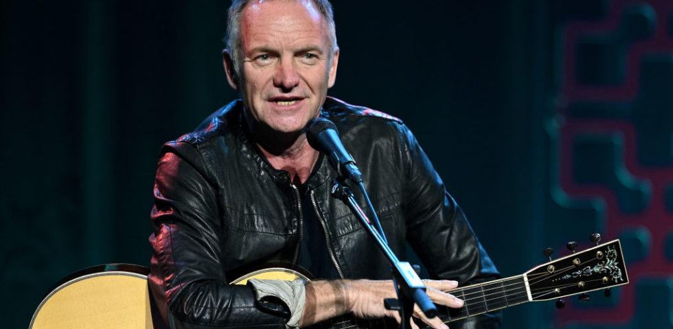 Sting dedica una canzone all'Italia colpita dal Coronavirus