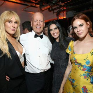 Demi Moore e Bruce Willis in quarantena insieme