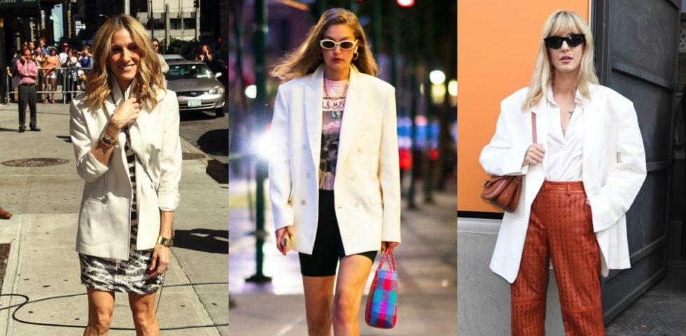 Giacca bianca: abbinamenti classici e di tendenza