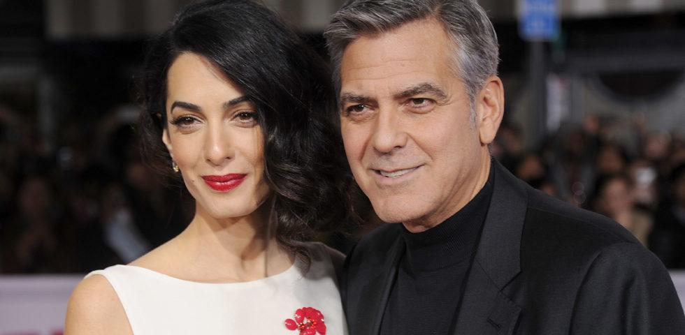 George e Amal Clooney: casa dei giochi da 100 mila euro per i gemelli