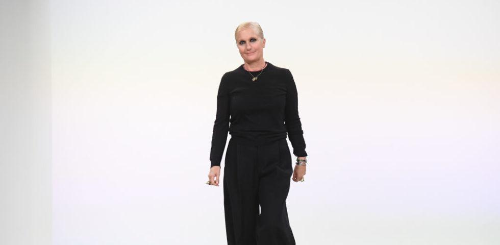 Maria Grazia Chiuri di Dior: è tempo di riorganizzare il sistema moda