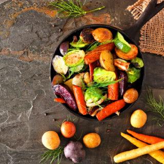 La guida per cucinare le verdure in modo sano