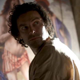 Aidan Turner è Leonardo nella nuova serie tv Rai