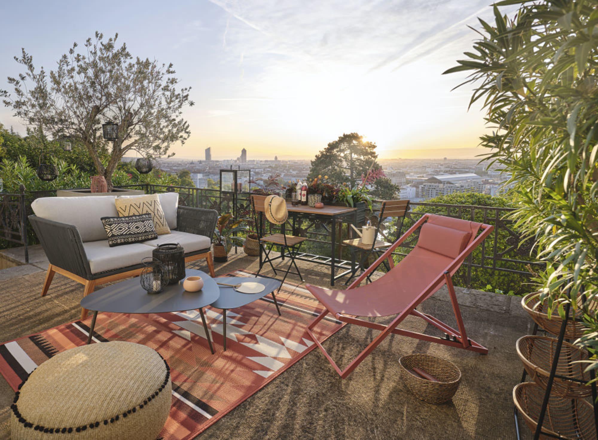 Maison Du Monde Terrazzo arredare terrazzo low cost: 10 soluzioni pratiche | diredonna