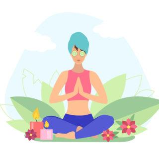 Addio alle rughe con lo yoga per il viso