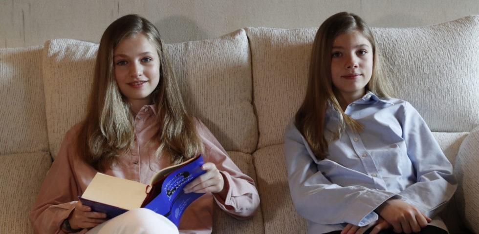 Letizia Ortiz: il debutto dell'Infanta Sofia con un messaggio contro il Coronavirus
