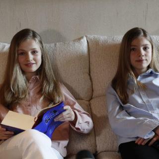 Leonor e Sofia di Spagna: primo video social
