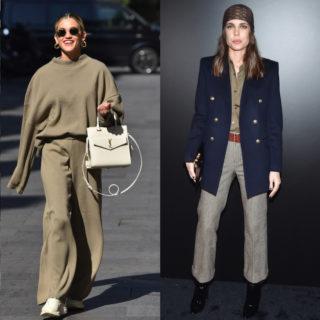 Fashion tip: pantaloni larghi, gli abbinamenti più chic