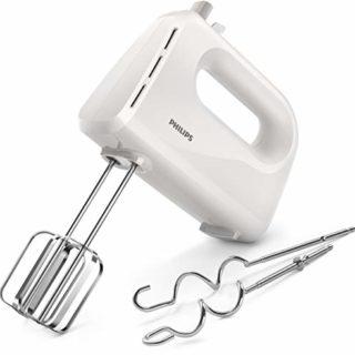 Philips Cucina Sbattitore Elettrico, Collezione Daily Bianco