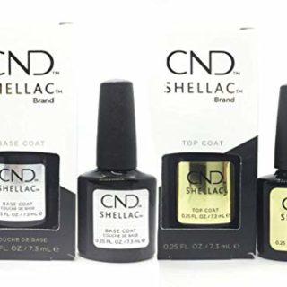 CND Shellac SET Base & Top Coat