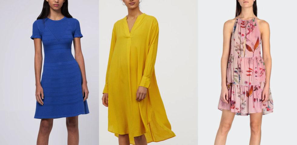 Vestiti colorati: come abbinarli con scarpe e borse