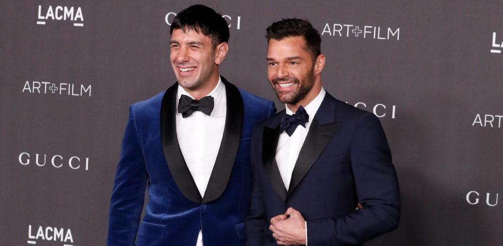Ricky Martin: il tenero bacio al marito nella giornata contro l'omofobia