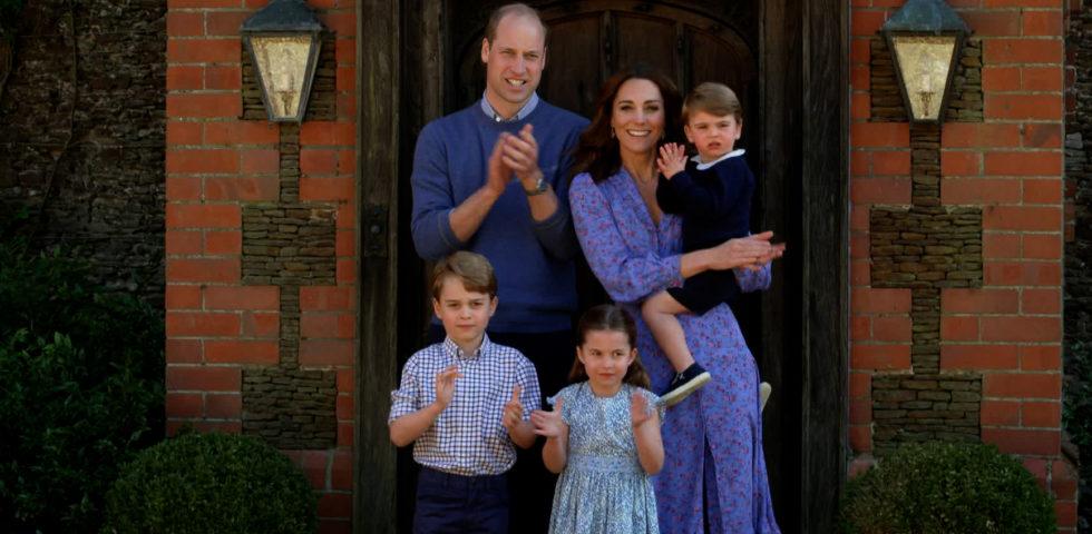 Il Principe William svela i capricci di George e Charlotte a tavola