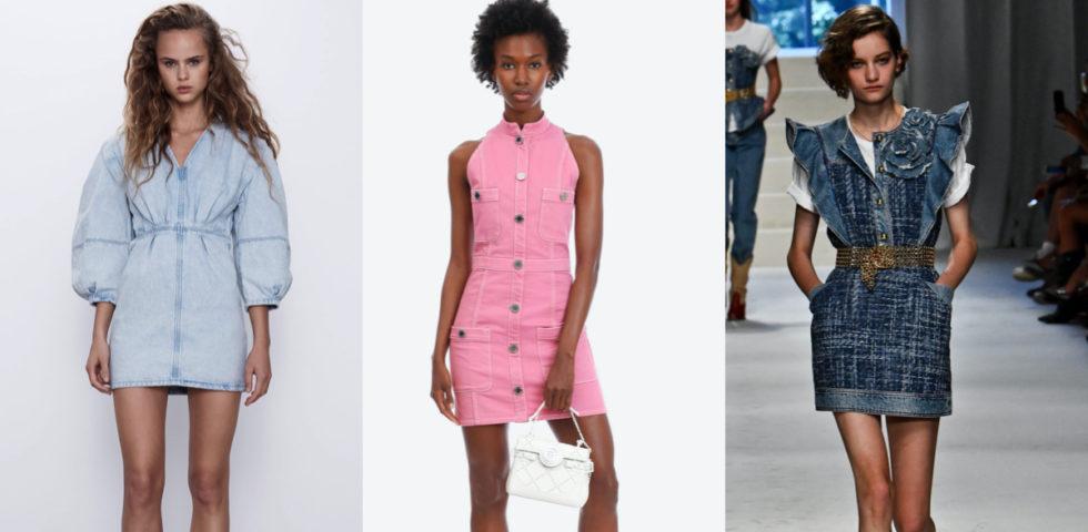 Vestito di jeans: come sceglierlo in base al fisico e abbinamenti