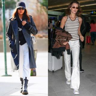Fashion tip: pantaloni bianchi, come indossarli con eleganza