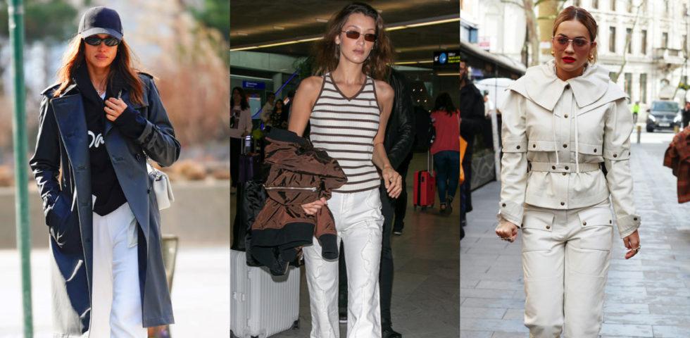 Pantaloni bianchi: a chi stanno bene e i migliori outfit