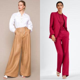 Come indossare i pantaloni di lino