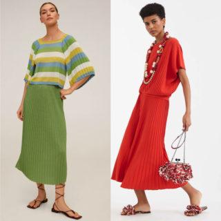 Fashion tip: gonne plissettate, gli abbinamenti estivi
