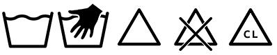simboli lavaggio in lavatrice