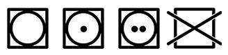 simboli asciugatrice