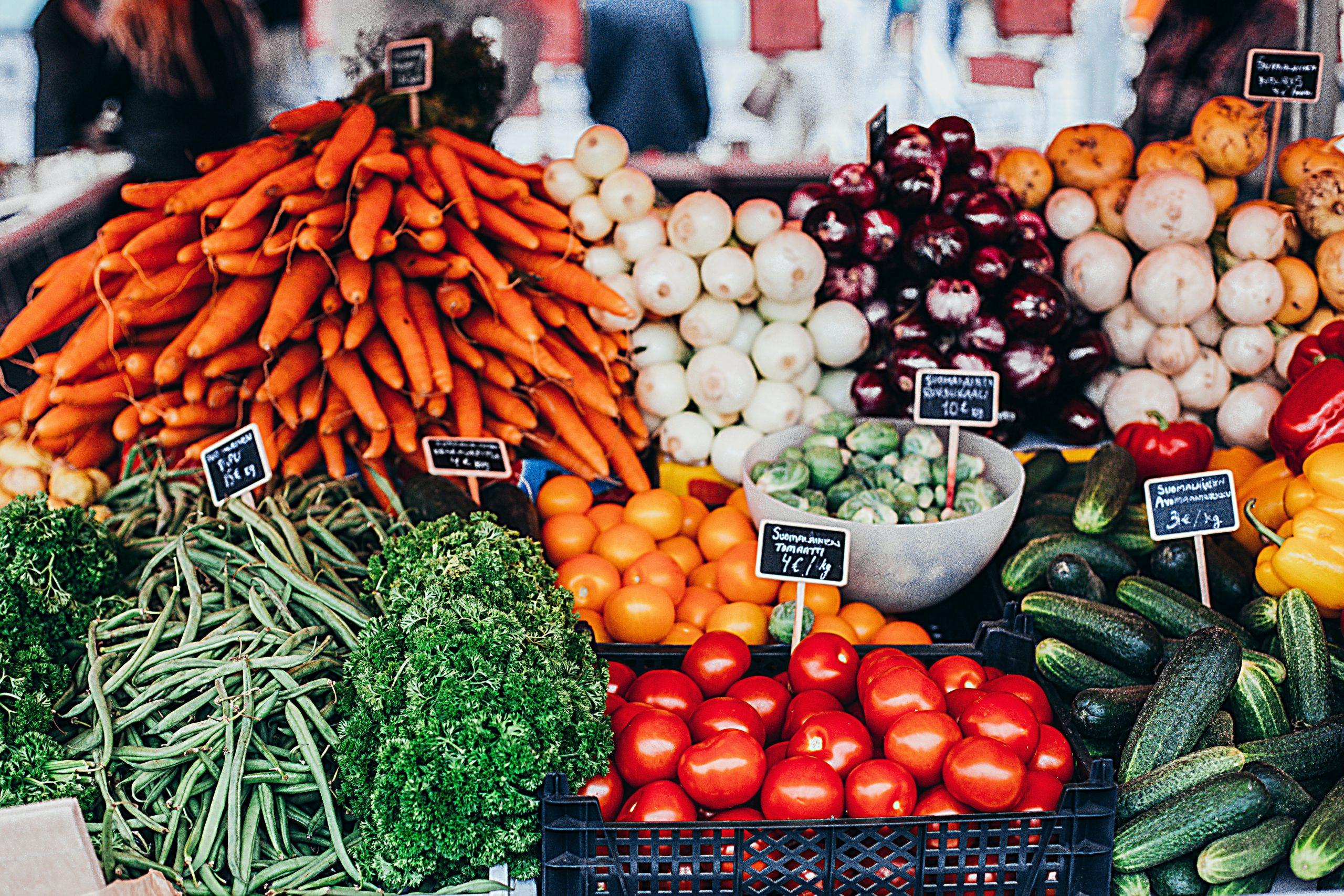 alimenti ricchi di fibre frutta e verdura