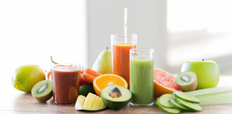 Centrifugati detox, come depurarsi con frutta e verdura