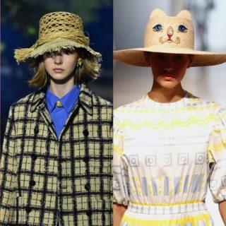 Fashion Alert: cappelli di paglia per la spiaggia e la città