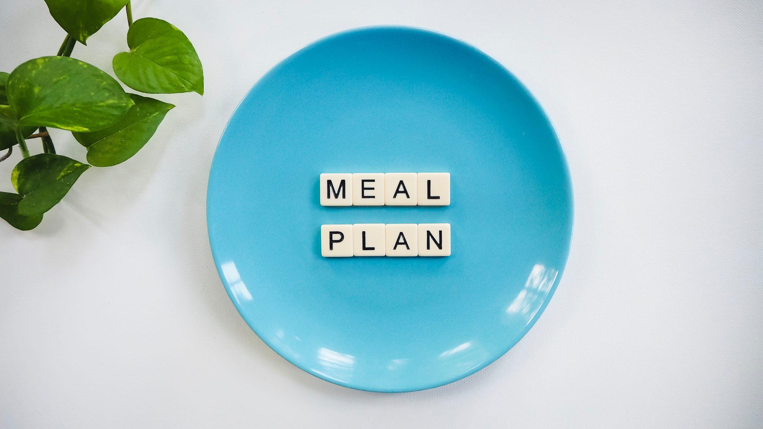 dieta menu settimanale