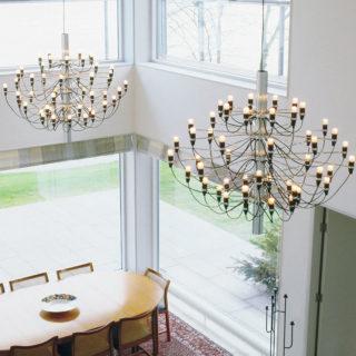 Fiat lux: i lampadari più belli della storia del design