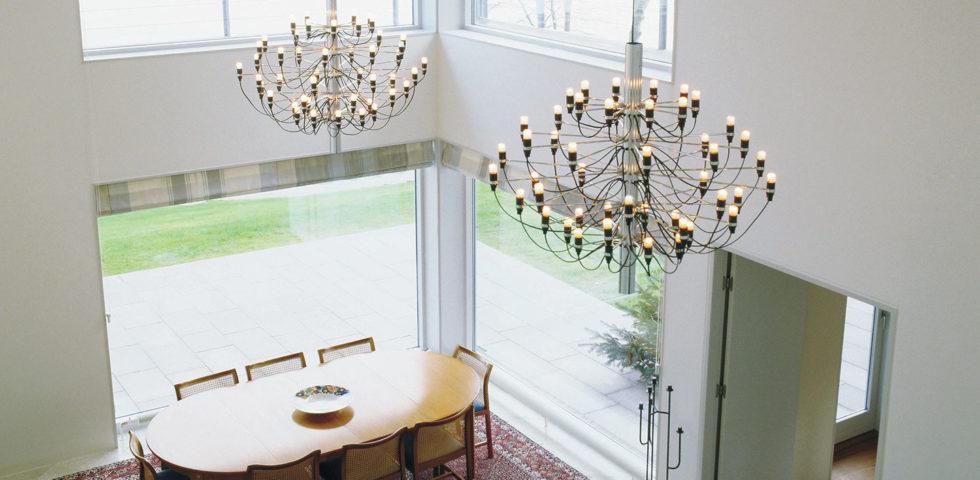 10 lampadari che hanno fatto la storia del design