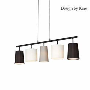 Briloner Leuchten Lampadario a 5 luci Design by Kare