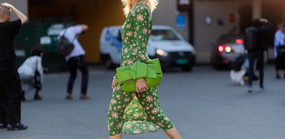 Vestito verde: come si abbina?