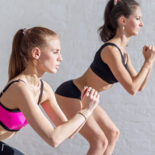 In forma con gli squat!