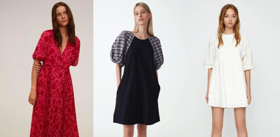 Vestito con maniche a sbuffo: a chi sta bene, modelli e tendenze