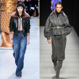 Trend Alert: jeans, tendenza anni '70 e '80 per l'inverno