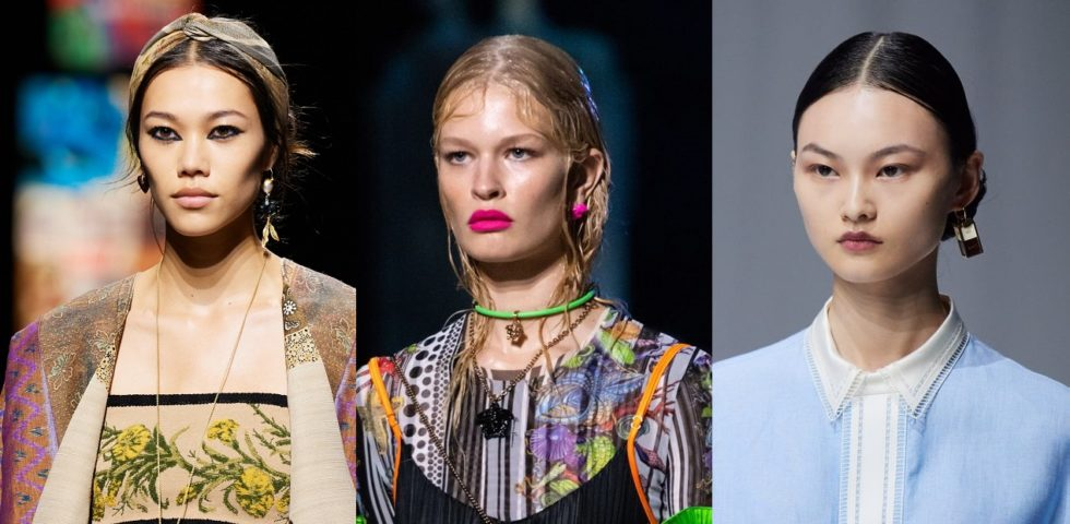 Primavera Estate 2021: tendenze beauty dalle passerelle