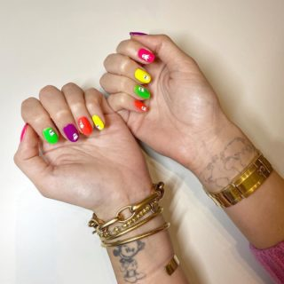 Beauty Alert: nail art effetto boo!