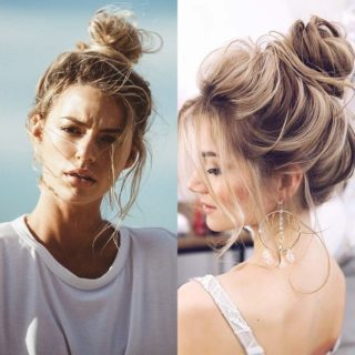 Beauty Alert: messy bun, chic e spettinata!