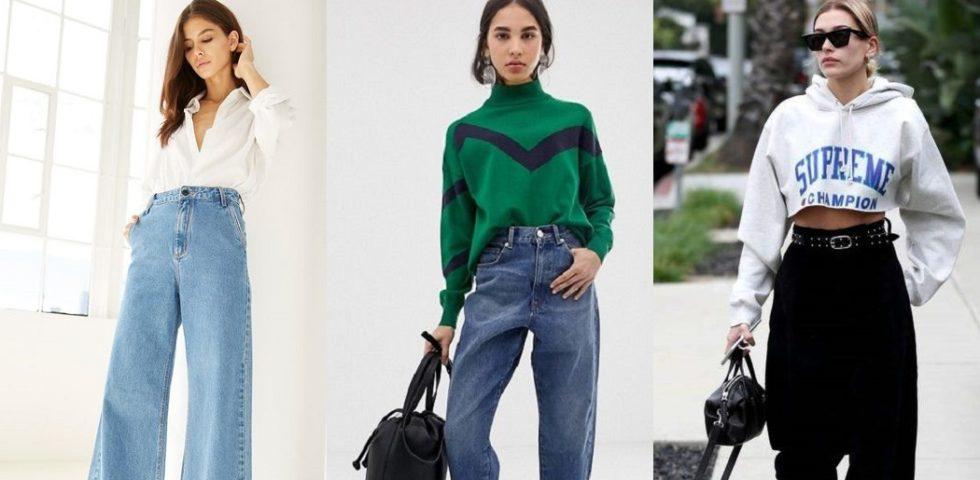 Jeans larghi: gli outfit da copiare