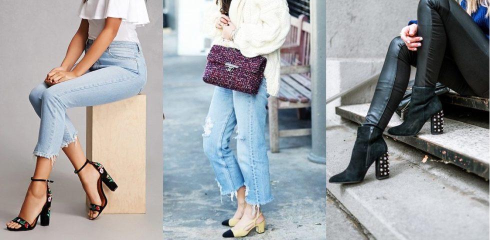 Scarpe con tacco largo: i look perfetti