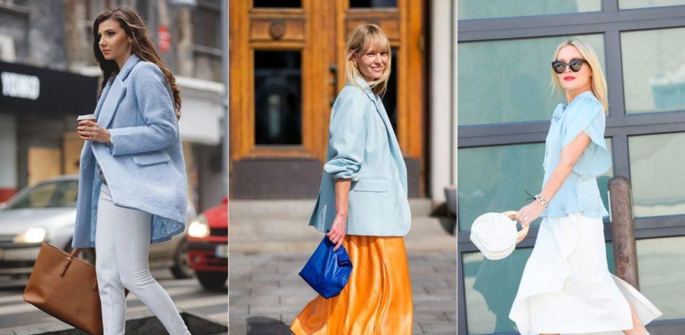 Come indossare l'azzurro: le combinazioni vincenti