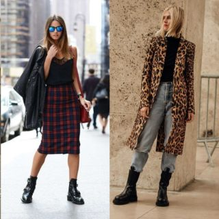 Fashion tip: gli anfibi si indossano così!