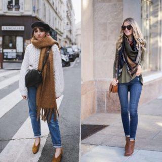 Fashion Alert: 7 idee glam per indossare la sciarpa