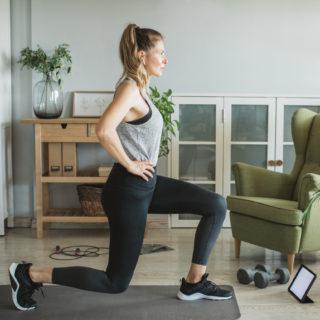 Il programma di esercizi per dimagrire a casa