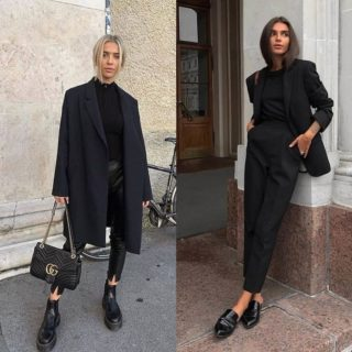 Fashion Tip: come vestirsi di nero (senza commettere errori)