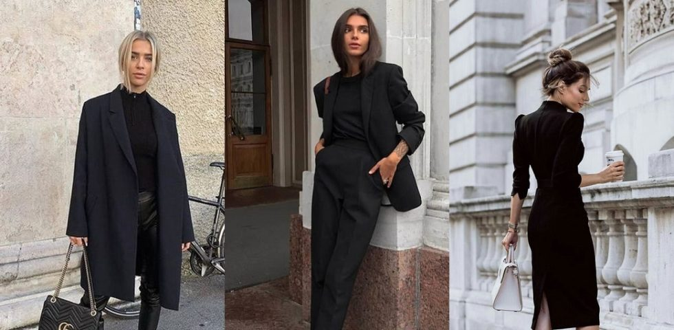 I consigli per vestirsi di nero (senza commettere errori)
