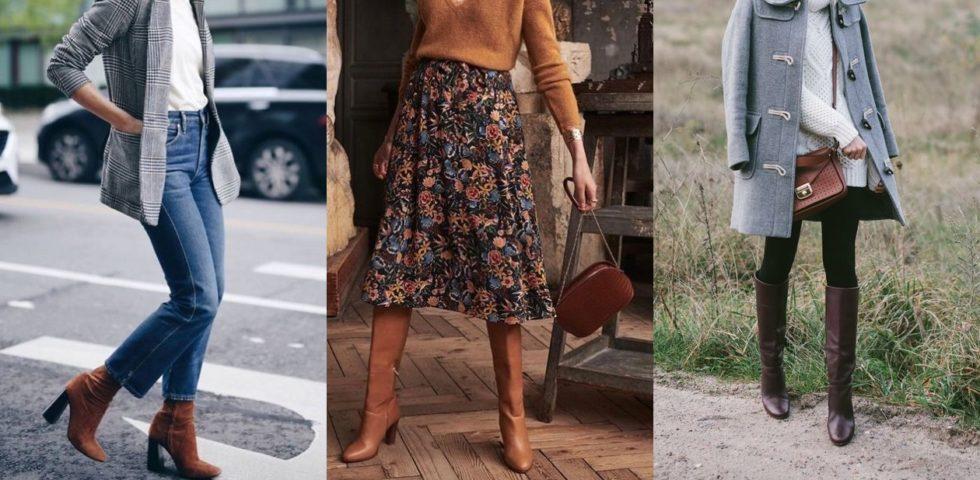 Stivali marroni: abbinamenti e outfit