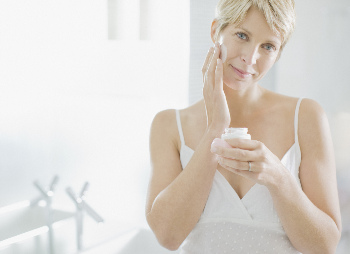 crema viso menopausa