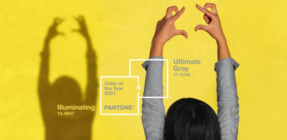 Colori Pantone 2021, Ultimate Gray e Illuminating: come si abbinano